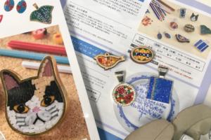 日本ヴォーグ社本社 ミクロモザイククラス開講 2021/4/6~
