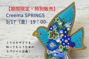 【オンライン・スペシャル販売】ミクロモザイクを知ってもらうためのスペシャル企画!